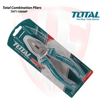 TOTAL THT110606P 160MM (6'') COMBINATION PLIERS
