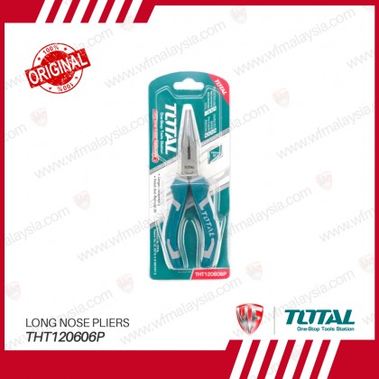 TOTAL THT120606P 160mm(6'') Long Nose Pliers