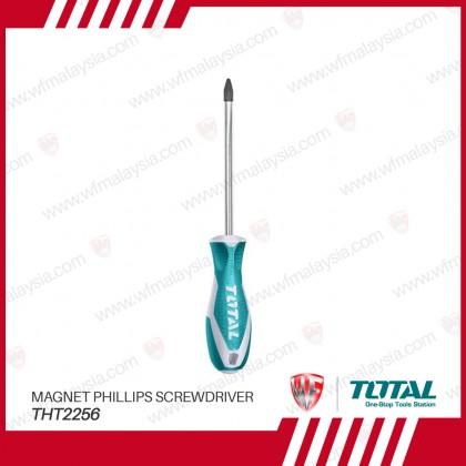 TOTAL THT2256 PH2 x125mm Magnet Phillips Screwdriver