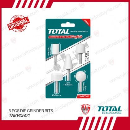 TOTAL TAKB0501 5 Pcs Die Grinder Bits