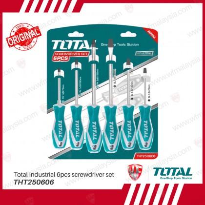 Total THT250606 Industrial 6pcs screwdriver set