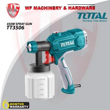 TOTAL TT3506 SPRAY GUN 450W For Painting Spraying Disinfectants (SIX MONTHS WARRANTY)