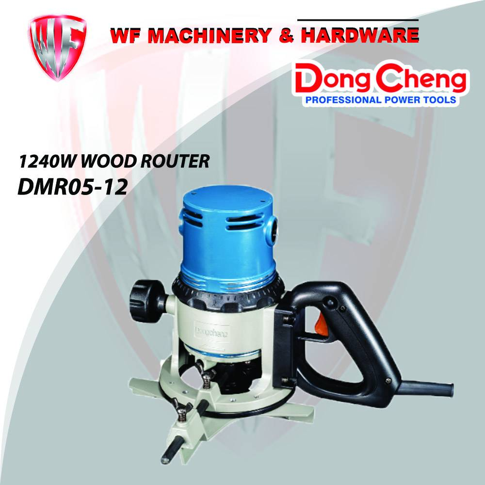 DONGCHENG DMR05-12 (M1R-FF05-12) WOOD ROUTER 1240W MESIN ...